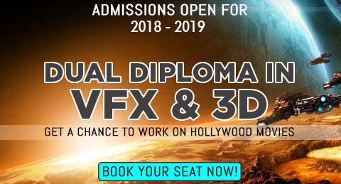 Diploma in VFX & animation (3D for VFX)