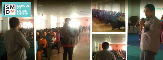 Seminar on Future of VFX Conducted at JSPM College, Wagholi 04